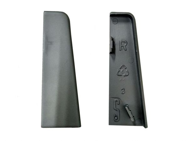 Equipped 1223 Endkappe Silbergrau 58mm